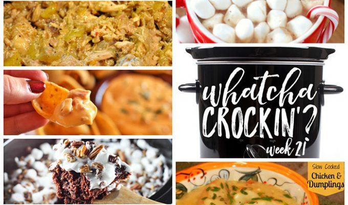Slow Cooked Chicken and Dumplings – Whatcha Crockin' – Week 21
