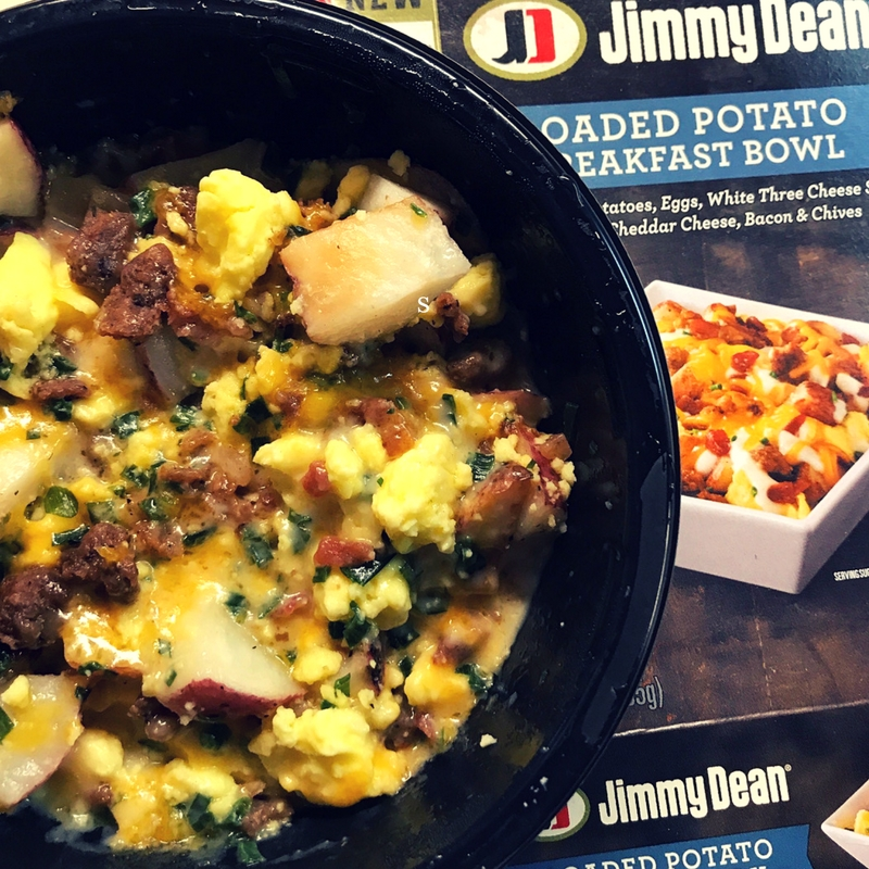 Looking for a protein packed breakfast, look no further than these Jimmy Dean's Breakfast Bowls.