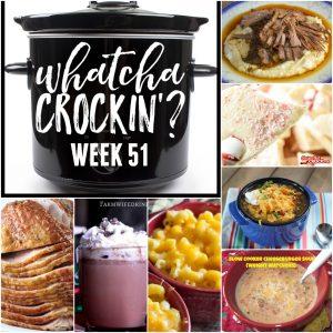 Tasty Slow Cooker Cheeseburger Soup – Whatcha Crockin' – Week 51