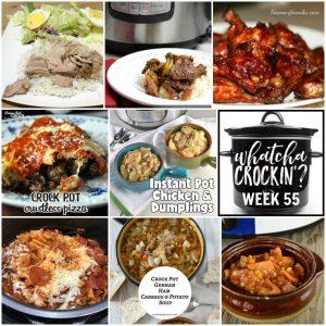 Instant Pot Chicken and Dumplings – Whatcha Crockin' – Week 55