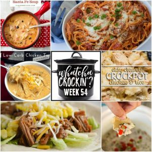 Slow Cooker Chicken Enchilada Soup – Whatcha Crockin' – Week 54