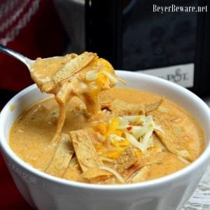Low-Carb Chicken Tortilla Soup