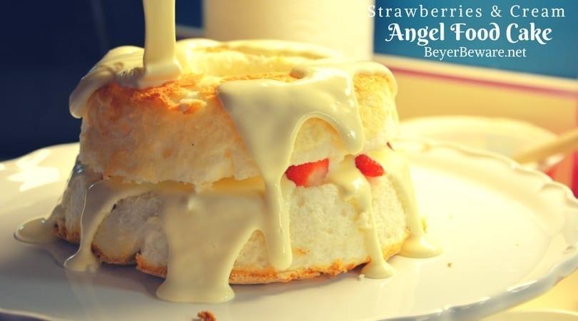 Orange Jello Angel Food Cake Recipe