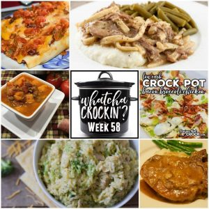Instant Pot Cheesy Chicken Broccoli Rice – Whatcha Crockin' – Week 58