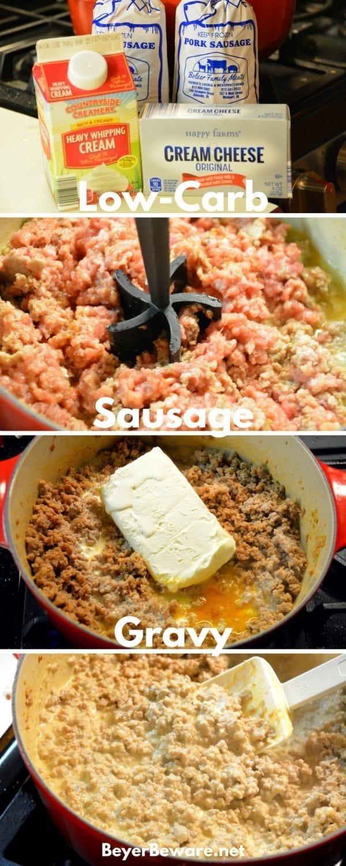 how to make white cream gravy