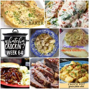 Slow Cooker Onion Cream Pork Chops – Whatcha Crockin' – Week 64