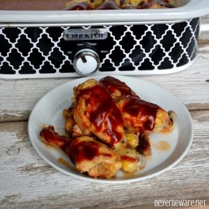 Crock Pot BBQ Ranch Chicken Legs