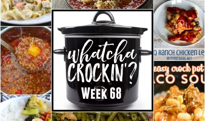 Slow Cooker Beef Stew and Rice – Whatcha Crockin' – Week 68