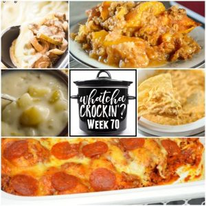 Crock Pot Peach Cobbler – Whatcha Crockin' – Week 70