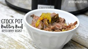 Crock Pot Butter Beef – Keto Crock Pot Beef Roast