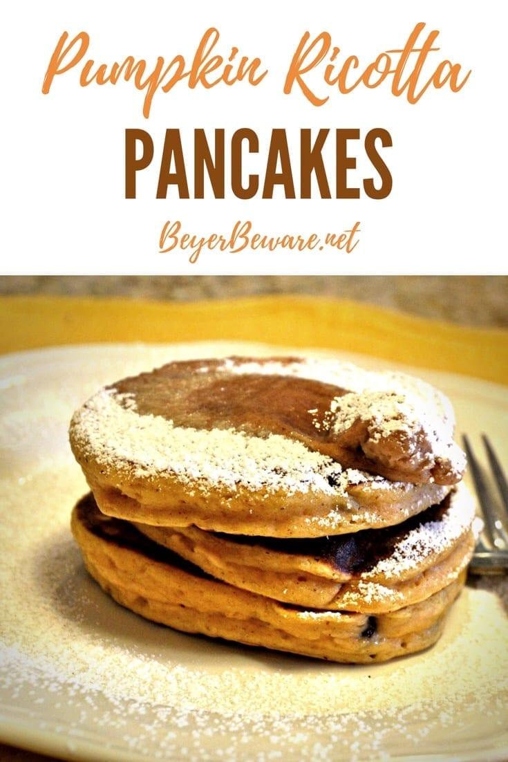 Pumpkin Ricotta Pancakes Recipe