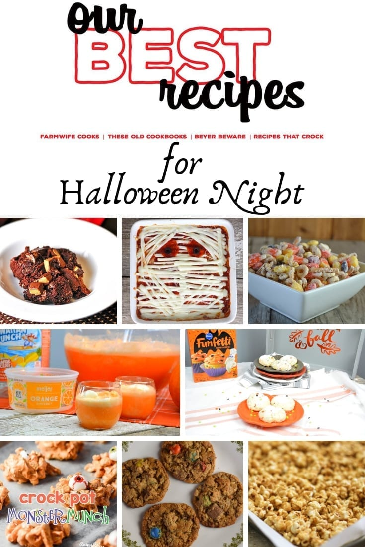 Our best recipes for Halloween