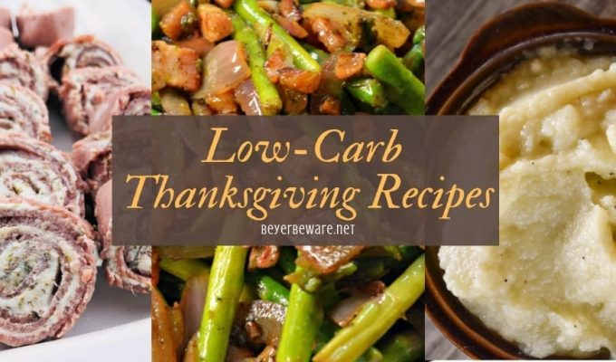 Low-Carb Thanksgiving Recipes