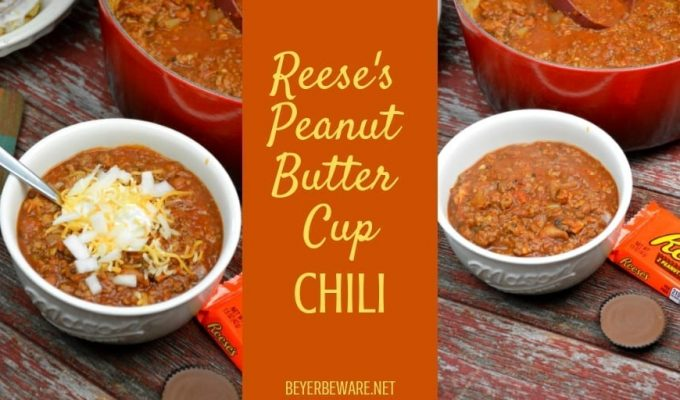 Reese's Peanut Butter Cup Chili