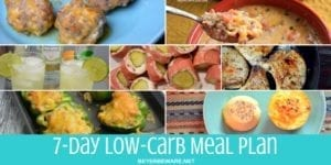 Low carb meal plan for 7 days was a labor of love as it became extremely obvious to me why I fail when I don't plan my meals for the week.#MealPlanning #LowCarb #Keto #LowCarbMealPlanning