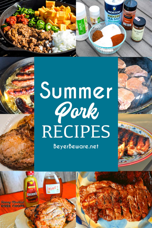 Summer Pork Recipes