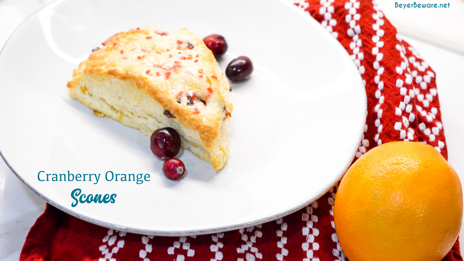 Cranberry orange scones are one of my favorite Starbucks indulgences that I now make at home with combination of fresh oranges, cranberries, and dried cranberries.