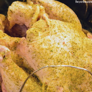 Knowing how to cook a chicken in an Instant Pot will be a gift for cooking a whole chicken quickly for fall of the bone chicken that can be used in soup, casseroles, and salads.