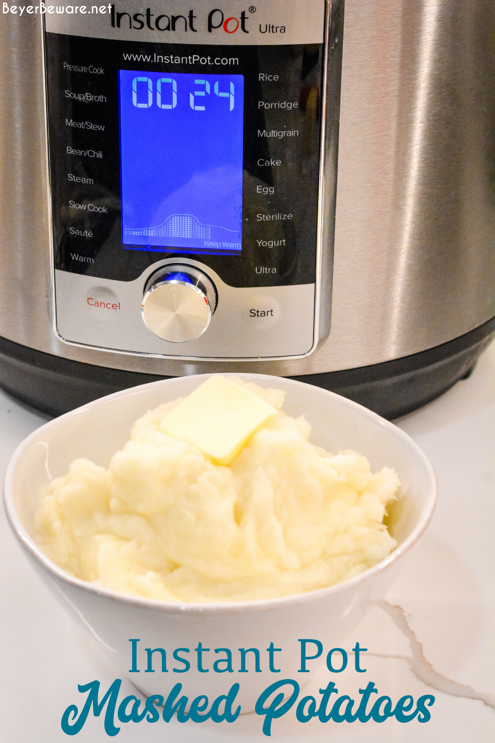 How to make mashed potatoes in the Instant Pot is something everyone needs to do since it is the fastest way to the best mashed potatoes.