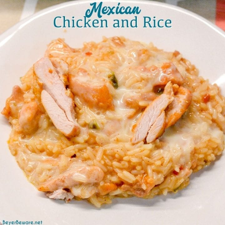 Arroz Con Pollo is the go-to order for both of my kids at a Mexican restaurant. I finally figure out how I can make this super easy Mexican chicken and rice with queso cheese recipe at home.